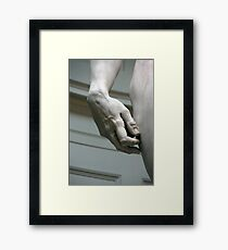 Hand Of David Framed Print