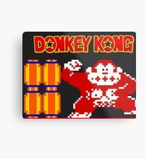Donkey Kong Metal Print