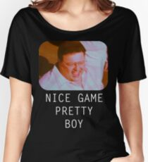 Nice Game Pretty Boy Women's Relaxed Fit T-Shirt