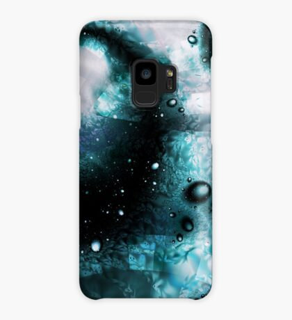 Blue Orbs Case/Skin for Samsung Galaxy