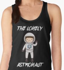The Lonely Astronaut (White Text) Women's Tank Top