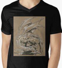 Dragon Classic Men's V-Neck T-Shirt