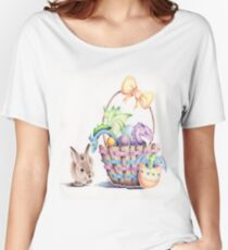 A basket of Easter Dragons Women's Relaxed Fit T-Shirt