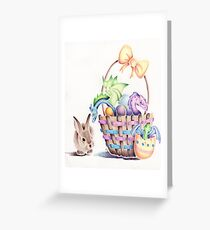 A basket of Easter Dragons Greeting Card
