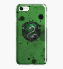 Green Ink Blots iPhone Case/Skin