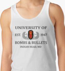 University of Bombs & Bullets Indian Head Tank Top