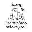 Cat plans  by ratticsassin
