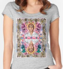 The Ascension of Britney to Punk Goddesshood Women's Fitted Scoop T-Shirt