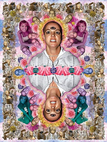 The Ascension of Britney to Punk Goddesshood by STORMYMADE