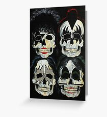 Killer Kiss  Greeting Card