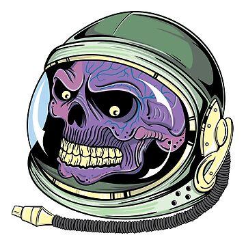 Astro Skull by Sami-Djebli