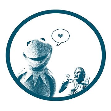 Kermit in Love by derekTheLair