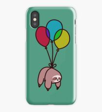 Balloon Sloth iPhone Case/Skin