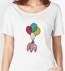 Balloon Sloth Women's Relaxed Fit T-Shirt