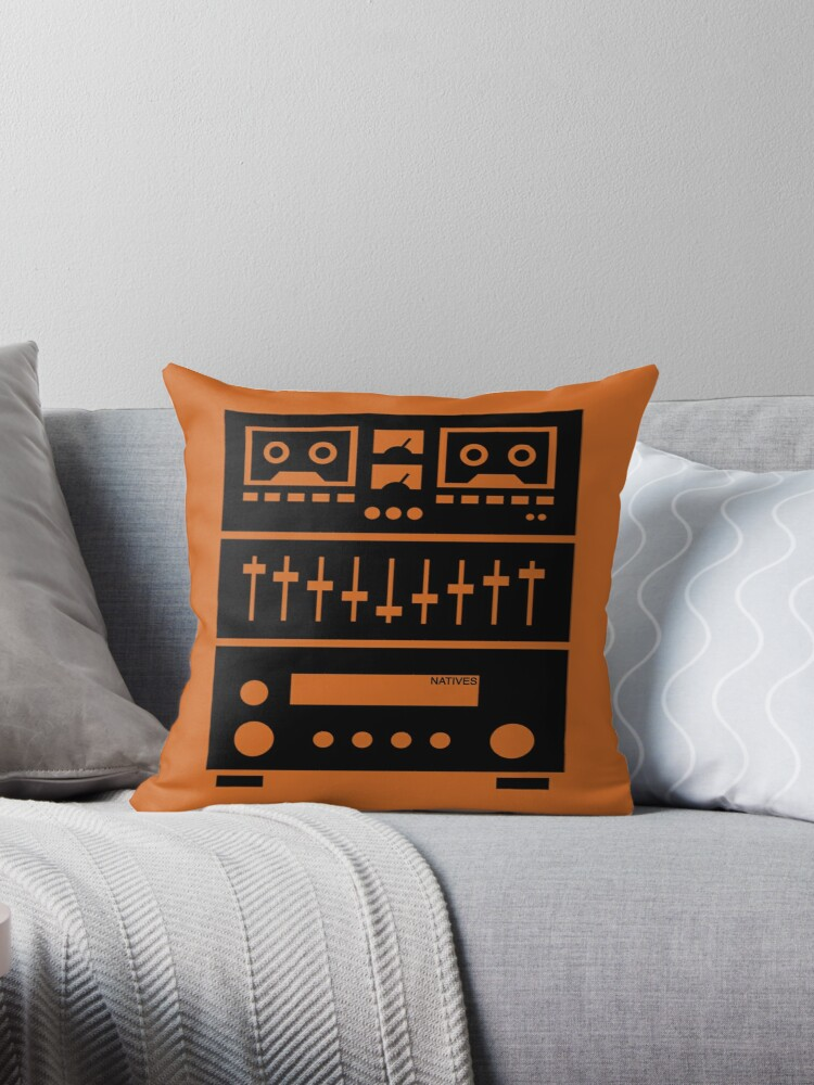 My Components Weigh A Ton Throw Pillows By Nativestyle Redbubble