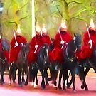 The Queens Life Guards on the Mall by shalisa