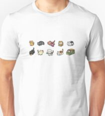 Neko Atsume Slim Fit T-Shirt