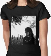 Cemetery Womens Fitted T-Shirt
