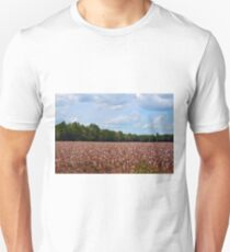 Field Of Cotton Balls T-Shirt