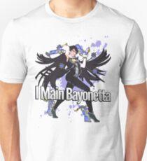 I Main Bayonetta - Super Smash Bros T-Shirt