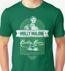 Molly Malone's Pretty Beer Unisex T-Shirt