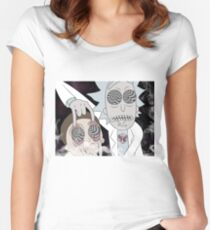 Rick & Morty Women's Fitted Scoop T-Shirt