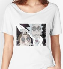 Rick & Morty Women's Relaxed Fit T-Shirt