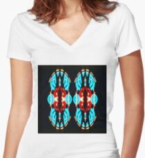 Nightcall Women's Fitted V-Neck T-Shirt