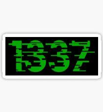 1337 Sticker