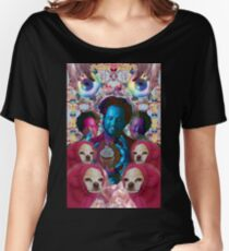 giorgio tsoukalos and his worm doggos Women's Relaxed Fit T-Shirt