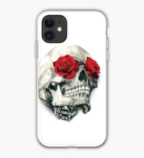 Rose Eye Skull iPhone Case