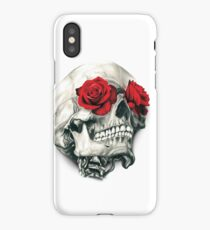 Rose Eye Skull iPhone Case/Skin