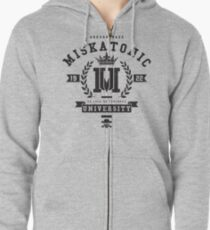 Miskatonic University Crest Zipped Hoodie