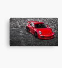 2014 Porsche 911 GT3 Canvas Print
