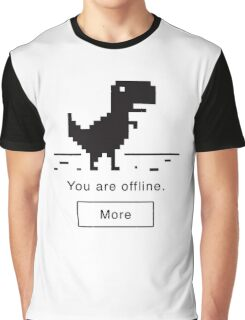 Offline Dinosaur Graphic T-Shirt