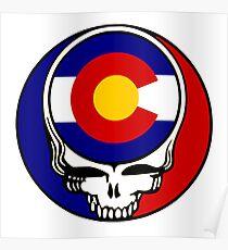 Colorado Stealie Poster