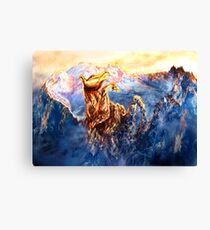 Will to live. Multi-color option Canvas Print