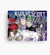 Ridley Scott Canvas Print