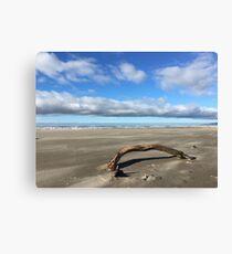 Windy Day in Rockaway Canvas Print