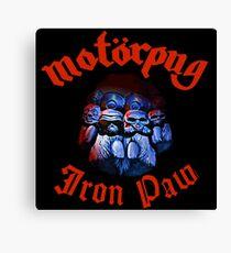 Motorpug Canvas Print