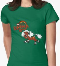 My Little Epona Women's Fitted T-Shirt