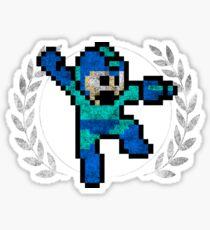 Mega Man - Sprite Badge Sticker