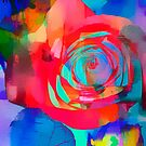 Watercolor Rose by Darlene Lankford Honeycutt