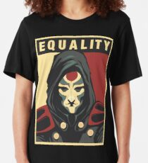 Amon Equality Poster Slim Fit T-Shirt