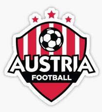 Football emblem of Austria Sticker