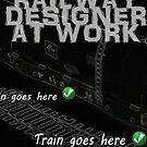 Model Railway Designer At Work by Phillip Overton
