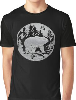 Bear Silhouette Graphic T-Shirt