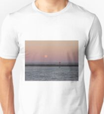 Moon Rising Over Outer Harbour T-Shirt