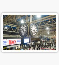 London Waterloo Station Clock Sticker