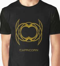 The Capricorn Zodiac Sign Graphic T-Shirt